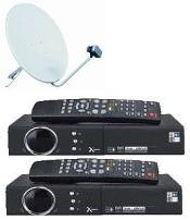 "best deals on FTA "" Free To Air"" satellite receivers, International, FTA dual package systems"