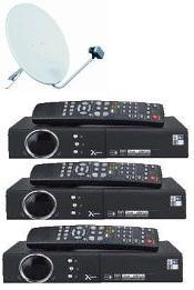 find the best deals on Free To Air satellite TV receivers, International, FTA triple packages here
