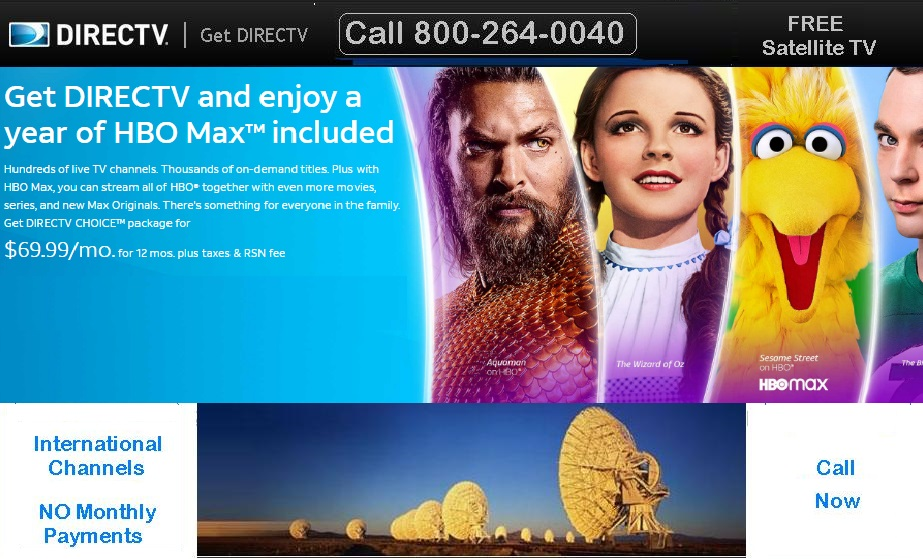 Get DirecTV in University City and enjoy your TV more with our special DireTV packages