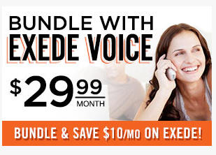 exede voice bundle and save