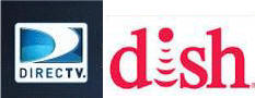 tv services by DirecTV and Dish net