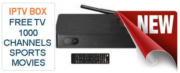 new iptv box, internet tv streaming device
