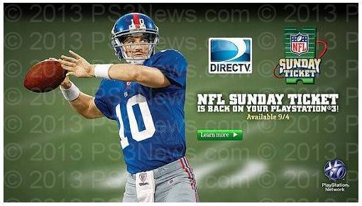 DirecTV NFL sunday tickets for Minneapolis